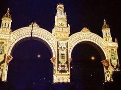 Portada 1988 #FeriaSevilla, representa al  Pabellón de Colombia
