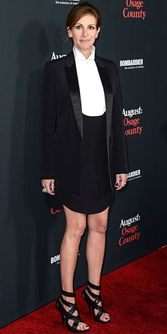 Look of the Day - December 17, 2013 - Julia Roberts in Givenchy #InStyle