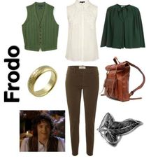 lord of the rings inspired outfit ~ frodo