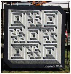 Labyrinth Walk - The quilt I am going to enter in the fair.
