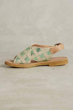 Slide View: 3: Penelope Chilvers Fleur De Lis Sandals