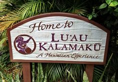Luau Kalamaku at Kilohana on Kauai- They say you either get a good meal or you get a great show depending on the luau you pick.  We picked ours for the show and it was worth it.  My husband didn't mind the food, but I wasn't impressed and hardly touched my food.  It is buffet style so you can choose what you want. Just don't come with high expectations for selection, taste, or presentation and you will have a great time.