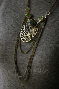 ...moonas, biżuteria i kot: ...leśna cisza