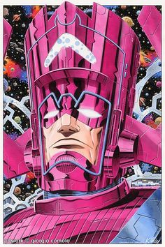 Galactus painting/Search//Home/ Comic Art Community GALLERY OF COMIC ART