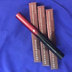 Three KEVYN ACOIN prime color creme eye shadow Kevyn ACOIN the prime color creme eye shadow. 3 shades: pristine, sinful, decadent. These are all GORGEOUS neutrals. I have a big box of these. Most of them have some sort of defect. Some of them have product spillage inside the container, on some of them the twisty knob doesn't push the product out etc. some look like they have been swatched or sampled. So these are AS-IS condition which is why the price is so awesome. This is a great way to…