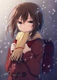 Resultado de imagem para anime girl brown hair