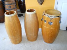 Oak Gon Bops restoration for Bob Ladu