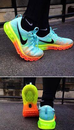 Nike Unisex Flyknit Max Running Shoe $69 @jollyfellow2