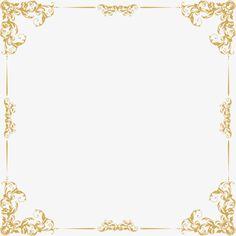 Quadro de Linhas de Ouro, A Linha Dourada, Quadro Simples, A Textura.Imagem PNG