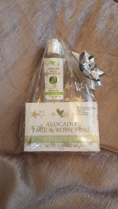 Aloe Hand Sanitizer and Avocado Face & Body Soap