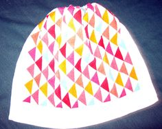 Crochet Kitchen Hanging Towels, Sideway triangles, multi colored, white top by mishap1165 on Etsy