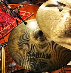 It's a smashing experience.  Recording drums at Blue Light Studio in Vancouver. #cymbals #recording #drums #sabian #cymbal
