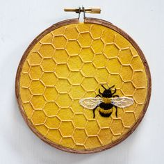 Hey, I found this really awesome Etsy listing at https://www.etsy.com/uk/listing/288727305/honeybee-honeycomb-embroidery-mixed