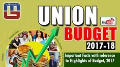 #Finance Minister #Arun_Jaitley presented the #Budget 2017-18 in the Lok Sabha. www.youtube.com/mahendraguruvideos  This is his fourth budget as Finance Minister. It is the first time that #Union and #railway budget have been presented together.  Tune Into MG YouTube Channel today @1:00 Pm for LIVE Discussion on Important facts with reference to #highlights of #Budget, 2017