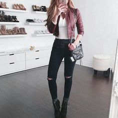 Party look outfits casual chic 66 Ideas Teenage Outfits, Teen Fashion Outfits, Girly Outfits, Outfits For Teens, Pretty Outfits, Fall Outfits, Casual Chic Outfits, Basic Outfits, Jugend Mode Outfits