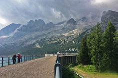 Lago di Fedaia, dam construction on the west side. A little Photoshop tweak done this pic
