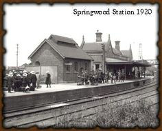 Springwood Station in 1920.A♥W