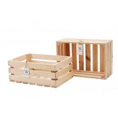 Skrzynka Dekoracyjna 304 (30x45x17)  - Naturalne Drewno