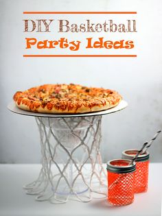 DIY Basketball Party Ideas with DIGIORNO®️ Stuffed Crust Pizza at Walmart - Homemaking Hacks ideas for birthday Basketball Birthday Parties, Sports Birthday, Sports Party, Birthday Party Themes, 9th Birthday, Birthday Ideas, Birthday Pizza, Love And Basketball, Basketball Games