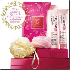 Skin So Soft Soft & Sensual Holiday Collection 4 pc set has body lotion, hand cream & exclusive holiday replenishing body bar & pouf On sale $12 Order goes in today & Monday! http://www.couponfacet.com/coupons/ulta_beauty