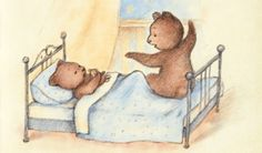 Drawing of Mama Bear telling bedtime story. Cute Bedtime Stories, Relationship Repair, Bedtime Reading, Library Programs, Bedtime Routine, Cover Pics, Stories For Kids, Kids And Parenting, Drawing