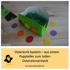 Easter basket craft DIY / craft idea for children Source by bastelrabe Diy For Kids, Crafts For Kids, Diy Crafts, Basket Crafts, Pre School, Easter Baskets, Activities For Kids, Presents, Fit