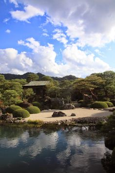 By Yuichi Azuma via Google + Adachi Museum Of Art, Japanese Art, Japanese Gardens, Amazing Gardens, Garden Design, Google, Outdoor, Beautiful, Lawn And Garden