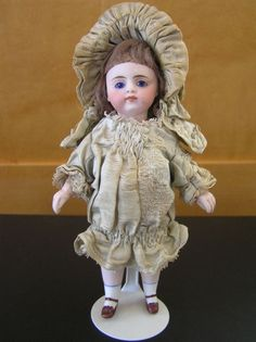 """6"""" Simon and Halbig mignonette all bisque doll from Dorothy Dixon collection"""
