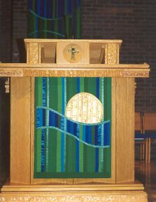 Image detail for -ordinary time pulpit hanging pulpit hanging