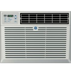 "GE 230 Volt Window Air Conditioner - AEM18DQ by GE. $674.28. 18,000/17,600 BTU, 10.7 E.E.R., 230/208 VoltsFits windows 26"" - 41"" wide, minimum height 18-1/2""R-410A refrigerantElectronic digital thermostatRemote controlEnergy saver feature24-hour timer"