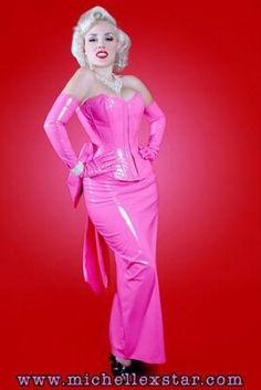 Monroe Pink Dress Costume