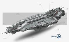 ArtStation - spaceship, pang p