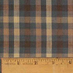 Vintage+Blue+4+Homespun+Cotton+Fabric