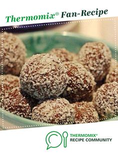 Nut Free Lunchbox Bliss Balls by Lyndathermomix. A Thermomix <sup>®</sup> recipe in the category Desserts & sweets on www.recipecommunity.com.au, the Thermomix <sup>®</sup> Community.