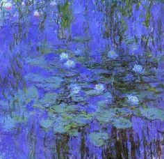 Claude Monet, Ninfee bleu (by Giorgio)
