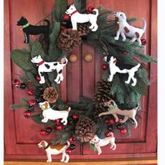 44 best Dog Ornaments images on Pinterest | Dog ornaments, Christmas ...