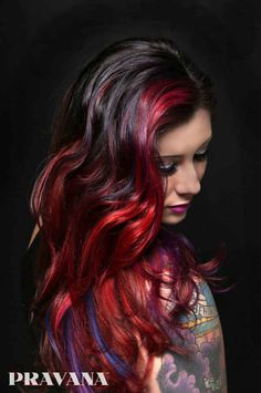 Jamie Muniz, a stylist with the hair color line Pravana, said the color should expand outward from the root.