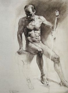 Russian academic drawing