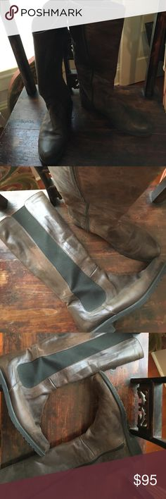 Eric Michael Tall Boots Spanish leather tall boots with elastic inset super comfort! Eric Michaels Shoes Heeled Boots