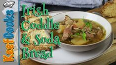 Dublin Coddle Irish Bacon and Sausage Stew with Soda Bread Irish Coddle Recipe, Dublin Coddle Recipe, Irish Lamb Stew, Sausage Stew, Mother Recipe, Stewed Potatoes, Soda Bread