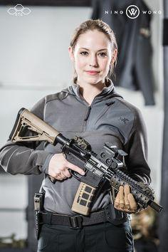 Girl with AR15