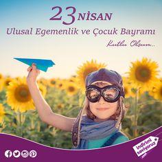 Başta geleceğin mimarı çocuklarımız olmak üzere tüm milletimizin Ulusal Egemenlik ve Çocuk Bayramı kutlu olsun! #23NisanUlusalEgemenlikBayramı #23NisanKutluOlsun #Atatürk #23Nisan #ÇocukBayramı #çocuk #MustafaKemalAtatürk #23NisanUlusalEgemenlikveÇocukBayramı