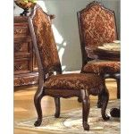 McFerran Home Furnishings - Traditional Dining Chair in Warm Cherry (Set of 2) - MCFRD101-CS