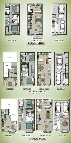 Brownstone Cargo Container House Plans | Sawyer Brownstones [Terramark Homes]