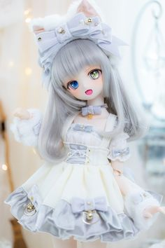 Custom Monster High Dolls, Custom Dolls, Tiny Dolls, Bjd Dolls, Pretty Dolls, Beautiful Dolls, Kawaii Goth, Cute Japanese Girl, Anime Figurines