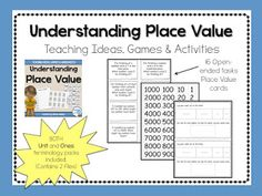 Understanding Place Value with 15+ Activities - Teaching Maths with Meaning Teaching Tools, Teaching Math, Maths, Activity Centers, Activity Games, Place Value Games, Expanded Form, Class Activities, Place Values