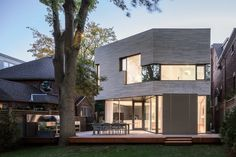 contemporary two storey-house, featured, room, house, garden, magazine