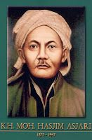 gambar-foto pahlawan nasional indonesia, Mohammad Hasyim Asy'ari