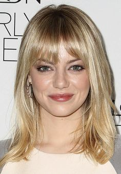 Love emma stone's hair but not the bright blonde