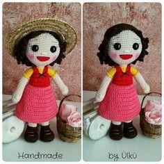 Amigurumi Puppe Heidi / Doll / Heidi Bebek